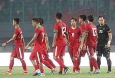 Grafik Menanjak Indonesia pada Peringkat FIFA dalam 4 Bulan Terakhir