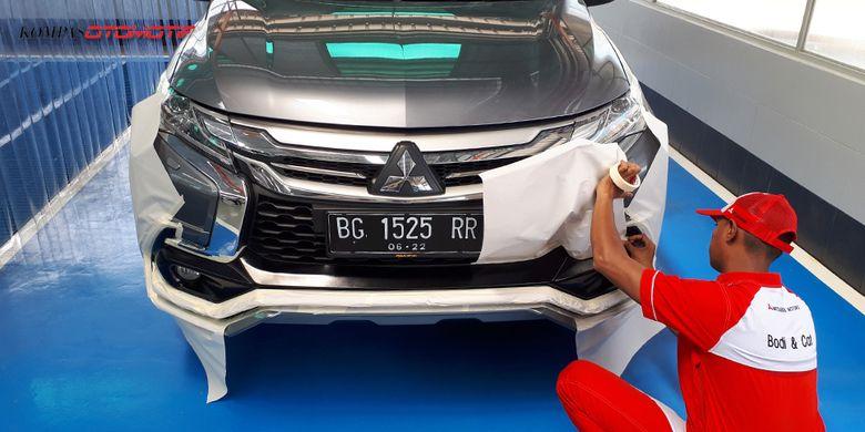 Fasilitas bodi dan cat Mitsubishi di Palembang telan investasi Rp 7 miliar