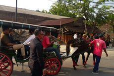 Jokowi Pantau Simulasi Kirab Kereta Kencana Pernikahan Kahiyang-Bobby