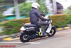 Bermanuver Singkat Bareng 'All New' Honda Scoopy