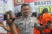 Ditembak Polisi, Pengedar Sabu Campur Barang Bukti  dengan Kotorannya