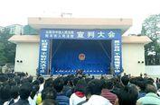 Pengadilan China Jatuhkan Sanksi Hukuman Mati 10 Terpidana di Depan Umum