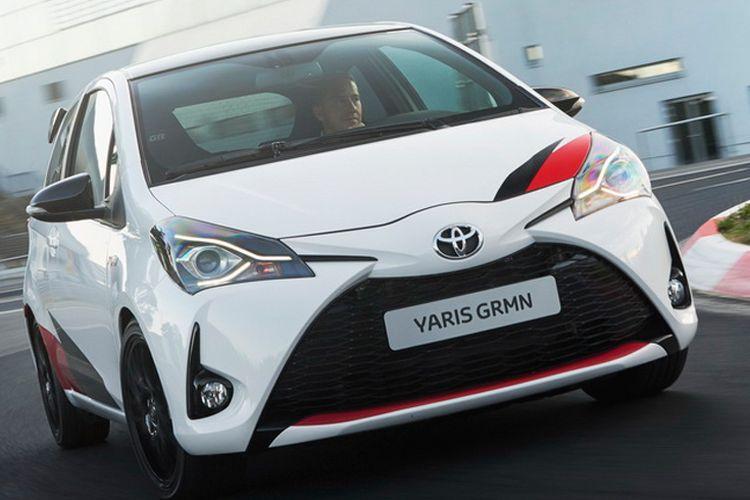 Toyota Yaris GRMN hanya diproduksi 400 unit