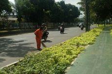 Bekerja pada Hari Kedua Lebaran, Pasukan Orange Tetap Bersyukur