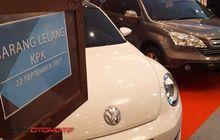 Wajib Lunas 5 Hari, Sebelum Boyong Mobil Lelang KPK