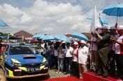 Putaran Pembuka Rally Indonesia 2017 Diresmikan di Ogan Ilir