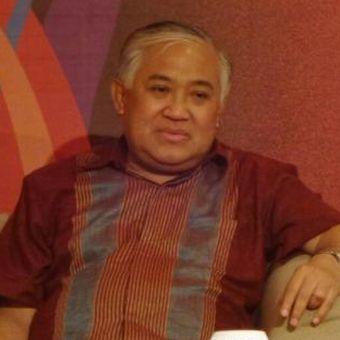 Ketua Dewan Pertimbangan Majelis Ulama Indonesia (MUI) Din Syamsudin di Museum Nasional, Jakarta Pusat, Kamis (29/12/2016)