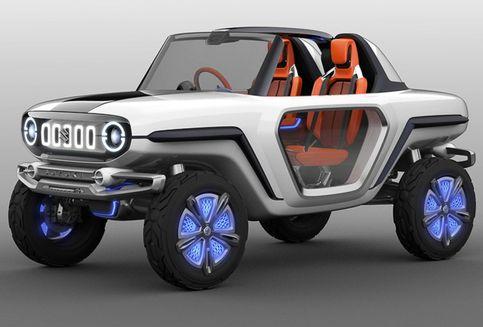 Suzuki Jimny Lahir Kembali Sebagai Mobil Listrik