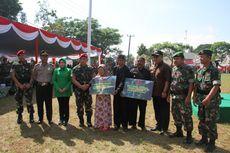 Sambut HUT ke-72 TNI, Kopassus Bedah Rumah Ibu Mamah di Sukabumi