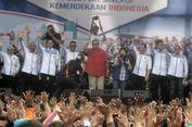 Hadiri Peringatan HUT RI Demokrat, SBY Tampil dengan Kemeja Merah