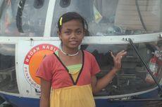 Cerita Bocah Maimunah Senang Bukan Main Bisa Pegang Badan Helikopter
