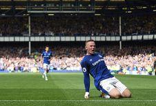 Momen Spesial  Rooney, Cetak Gol Kemenangan Everton di Goodison Park