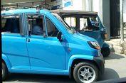 Menjajal Bajaj Roda Empat Trayek Ampera-Jakarta Kota