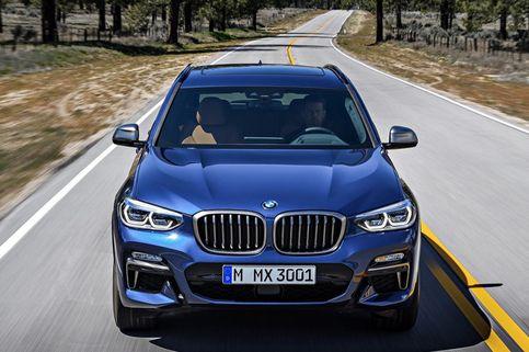 BMW X3 Meluncur dengan Paket Paling Bertenaga
