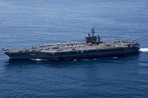 Korut Siap Tenggelamkan Kapal Induk AS