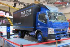 Daimler Kirim Truk Listrik Pertama Fuso