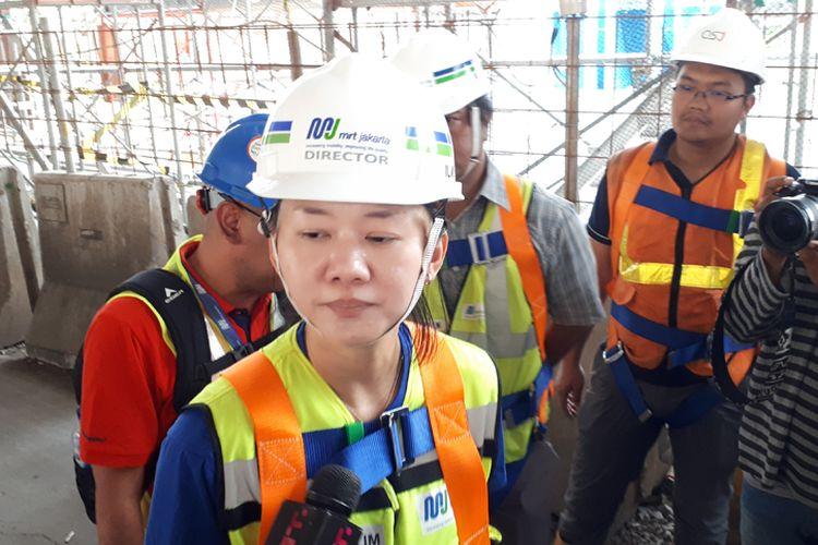 Direktur Konstruksi PT MRT Jakarta Silvia Halim