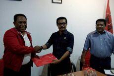 Komarudin Watubun Mendaftar ke PDI-P Sebagai Calon Gubernur Maluku