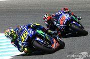 Tak Ada 'Team Order', Rossi Tidak Akan Bantu Vinales