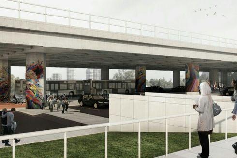 Pembangunan Area Parkir di Kolong Tol Kalijodo Dimulai Tahun Depan