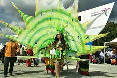 Meriahnya Parade Kebudayaan Bahari Masyarakat Wakatobi