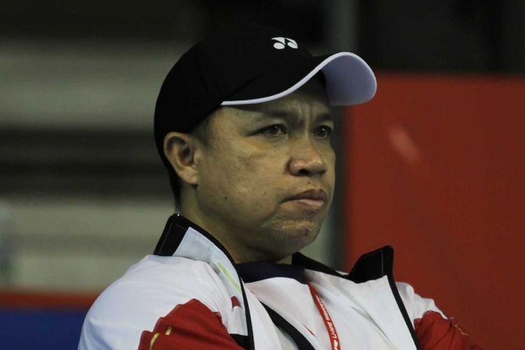 Pelatih sektor ganda campuran nasional, Richard Mainaky.