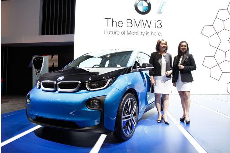 BMW i3 tampil perdana di Indonesia