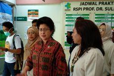 Menkes Tengok Kondisi Pasien Difteri di RSPI Sulianti Saroso
