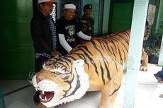 Patung Harimau Lucu Diganti dengan Maung Sancang Siliwangi