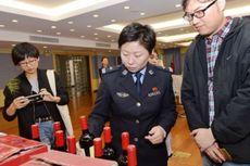 Polisi China Amankan 14.000 Botol