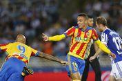 Duet Lini Depan Valencia Mendekati Ketajaman Messi-Suarez