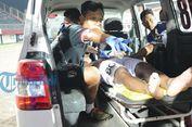 Pemain Bali United U-19 Cedera Leher karena Dipukul Lawan