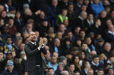 Reaksi Guardiola soal Perbandingan antara Man City dan Barcelona