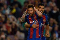 Soal Assist untuk Messi, Suarez Hanya Kalah dari Alves dan Xavi