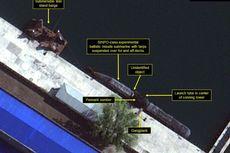 Foto Satelit Rekam Korut Bangun Kapal Selam Bersenjata Misil Balistik