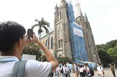 Gereja Katedral Sediakan Parkir bagi Jemaah Shalat Id Masjid Istiqlal
