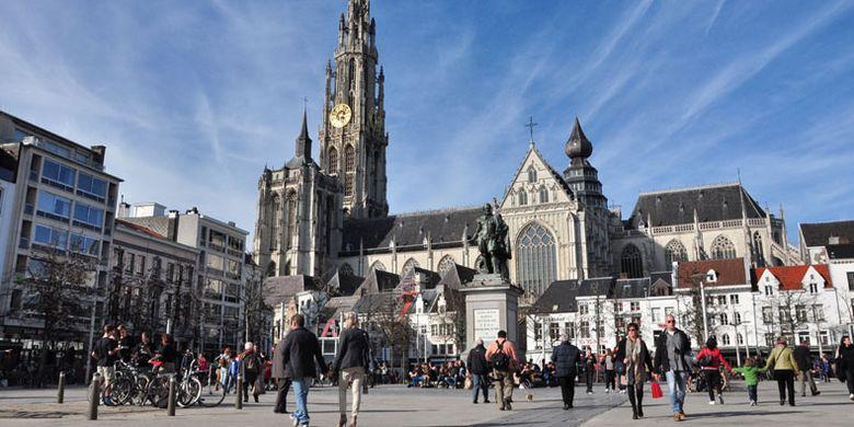 2119046812 » Perjalanan Dari Brussel Ke Den Haag, Mampirlah Di Antwerp