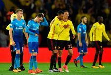 Hasil Liga Inggris, Arsenal Takluk di Kandang Watford