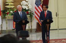 Bertemu Wapres AS, Presiden Jokowi Titip Salam untuk Donald Trump