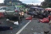 Pengemudi Avanza Jadi Tersangka Kasus Kecelakaan di Tol Cawang