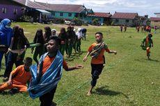 Sehari Tanpa Gawai, Anak-anak di Sebatik Ikuti Permainan Tradisional