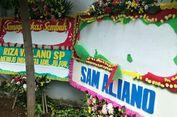 Karangan Bunga untuk Setya Novanto Dirusak Orang Tak Dikenal