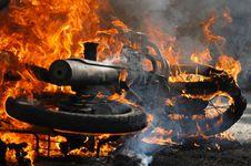 Kebakaran Gudang di Cisalak Hanguskan Tiga Motor