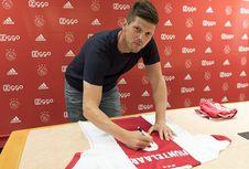 Kembali ke Ajax, Klaas Jan Huntelaar Bahagia