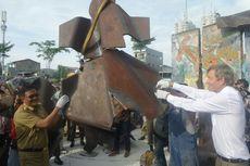 Djarot dan Dubes Jerman Saksikan Tembok Berlin di Kalijodo