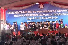 Ketika Presiden Jokowi Sisakan Waktu untuk Orasi Ilmiah di Undip...