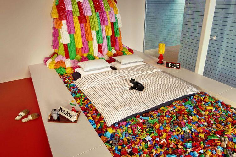 Rumah Lego di Denmark sebagai hadiah pemenang kontes yangn diadakan Airbnb(Wahyunanda Kusuma Pertiwi)