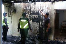 Ditinggal Nonton Hajatan Tetangga, Rumah Petani Ini Terbakar