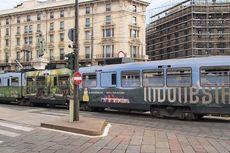 Tram dan Bus Italia Dihiasi Iklan Promosi Ekspor dan Wisata Indonesia