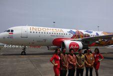 Ikon Pariwisata Indonesia Hiasi Pesawat AirAsia Indonesia